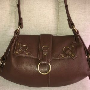 Perlina Satchel Leather Bag
